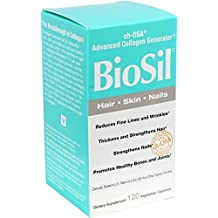 Biosil Skin & Hair & Nails Biosil 120 VCaps by Natural Factors