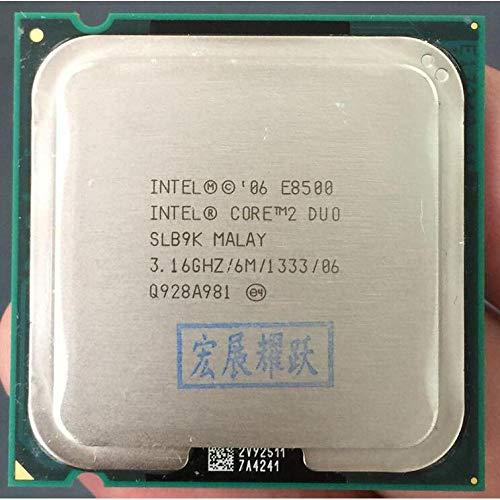 Lga775 Desktop - Intel Core 2 Duo Processor E8500 (6M Cache, 3.16 GHz, 1333 MHz FSB) SLB9K EO LGA775 Desktop CPU Intel Central Processing Unit