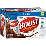 Boost Plus Chocolate Sensation Nutritional Energy Drink, 24 8 Ounce Bottles