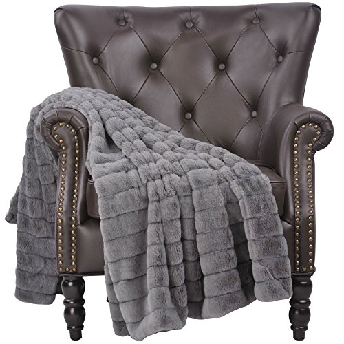 Home Soft Things Boon Super Mink Faux Fur Throw