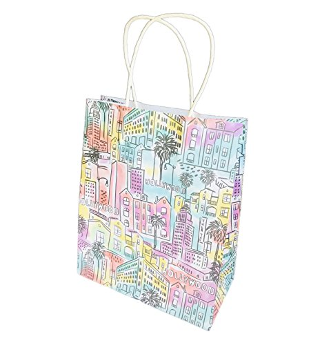 (Destination City Themed Novelty Party Gift Bag 12.75 x 10.5 x 5 (Los)