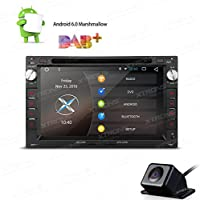 XTRONS 7 Android 6.0 Quad Core Capacitive Touch Screen Car Stereo Radio DVD Player with Screen Mirroring Function OBD2 1080P for VW SEAT SKODA Reversing Camera