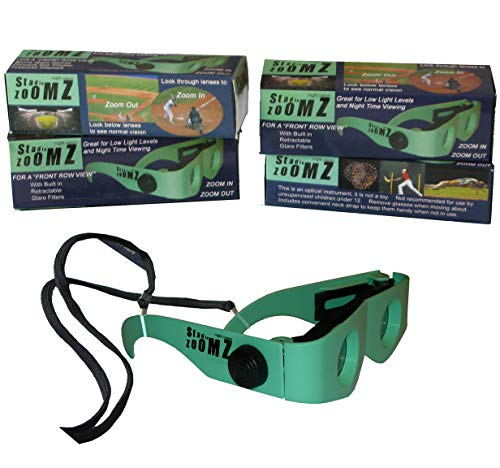Two Pack of Binocular Glasses, nite Vision, Low Light Levels, aid for Macular Degeneration Patients to See Faces and TV Again.