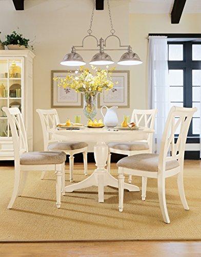 American Drew Camden-Light Buttermilk 5 Piece Round Dining Room Set