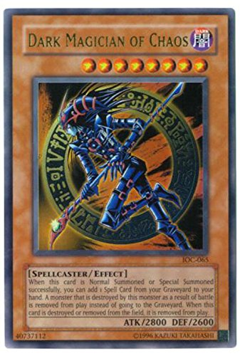 Yu-Gi-Oh! - Dark Magician of Chaos (IOC-065) - Invasion of Chaos - Unlimited Edition - Ultra Rare