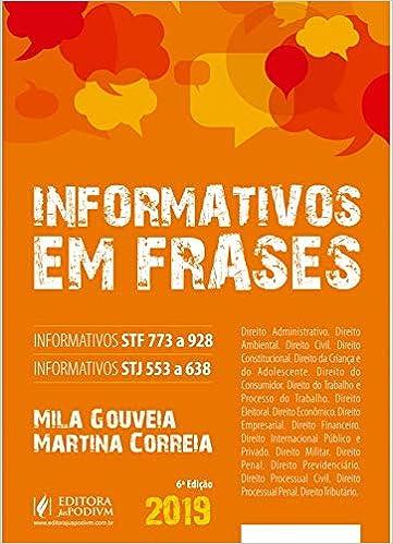 Informativos Em Frases Informativos Stf 773 A 928