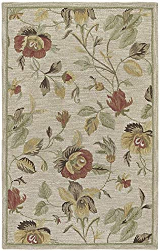 Kaleen Rugs Khazana Collection 6557-42 Linen Hand Tufted 2 x 3 Rug