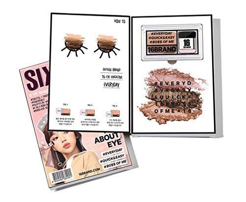 Chosungah 16 brand Holiday Edition Everyday Magazine eye shadow by CHOSUNGAH22