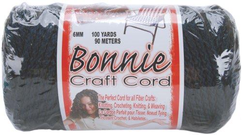 Pepperell BB6-100-038 6mm Bonnie Macramé Craft Cord, 100-Yard, Navy