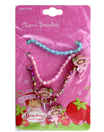 Strawberry Shortcake Charm Bracelets - Strawberry Shortcake Charm Bracelets (Ballerina) - Strawberry Shortcake Ballerina Charms
