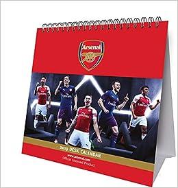 581a4636212 Arsenal Desk Easel Official 2019 Calendar - Desk Easel Format Calendar –  Desk Calendar