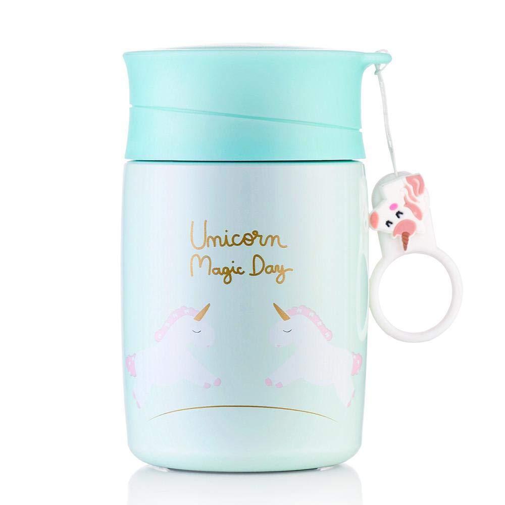 300 ml niños bebé dulce unicornio botella termo, niñas, bebés taza ...