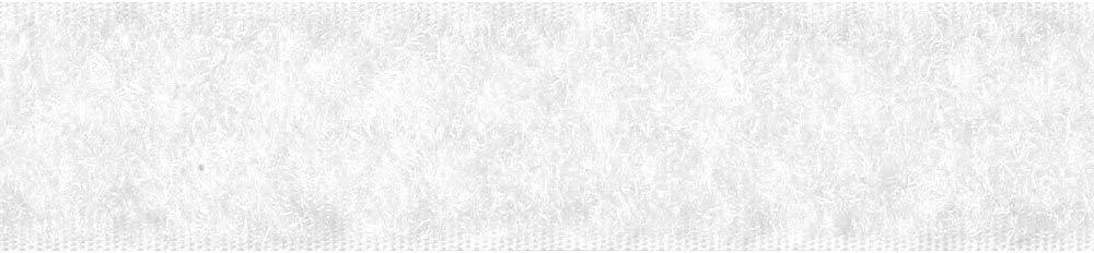 Breite 20mm und Flauschband zum N/ähen schwarz LYSEL Klettband Haken