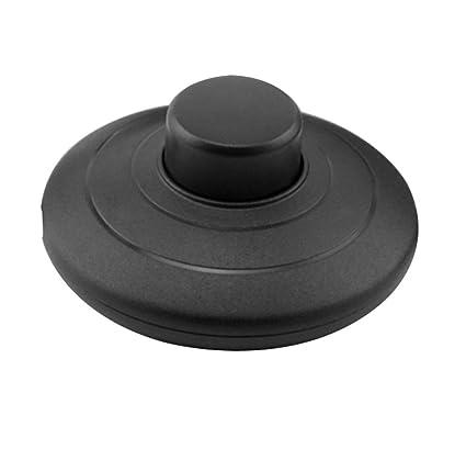 MZMing [1 Pack] Interruptor de presión en línea para pie para lámpara estándar para 2 o 3 Core Flex In Black para lámpara de pie y mesa - Interruptor ...