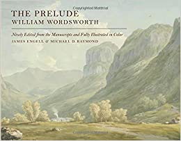 The Prelude Newly Edited From The Manuscripts Amazoncom