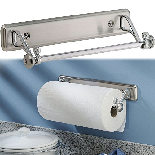 New York Kitchen Wall-Mount Paper Towel Holder, Stainless Steel Finish from New York