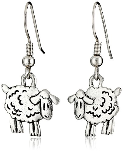 Cedar Creek Charming Accents French Wire Earrings, Sheep
