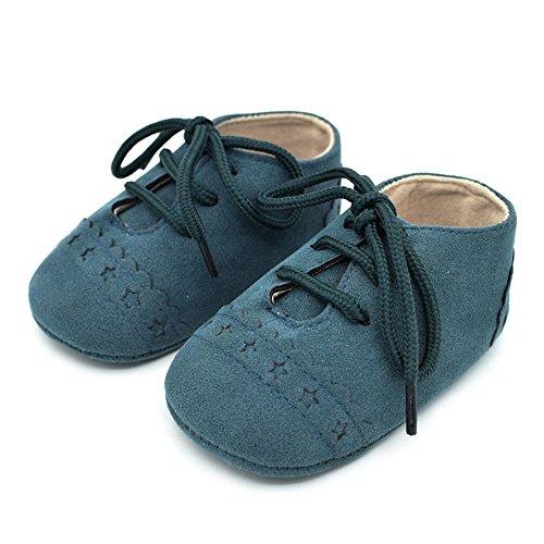 Zapatos de niño Suela Blanda Zapatos niños Cordones Zapatos con bebé ❤️ Pasos Primeros Absolute para Antideslizantes Bebe Verde de pYdwOYHEq