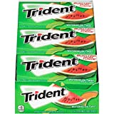Trident Watermelon Twist Sugar Free Gum, 12 Packs