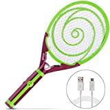 Nikаnd Electric Gnat Fly Insect Killer Swatter Bug Zapper Racket USB...