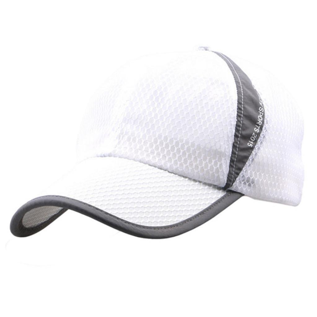 Men and Women Outdoor Holiday Sunshade Sun Hat Quick-Dry Ventilation Baseball Caps