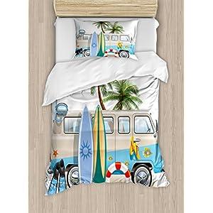 51nJ4oyXnGL._SS300_ 50+ Surf Bedding and Surf Comforter Sets