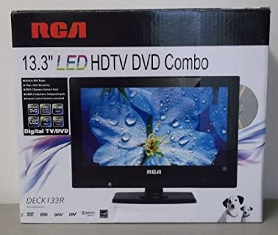 "RCA 13.3"" LED HDTV DVD COMBO DECK133R Remote"