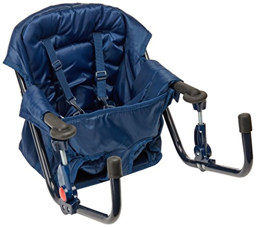 Regalo Easy Diner Portable Hook On Highchair, Navy (Portable Chair High)