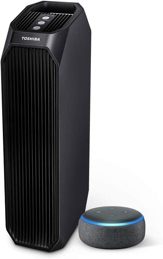 Amazon.com: Toshiba Smart Air Purifier and Echo Dot Bundle: Home & Kitchen