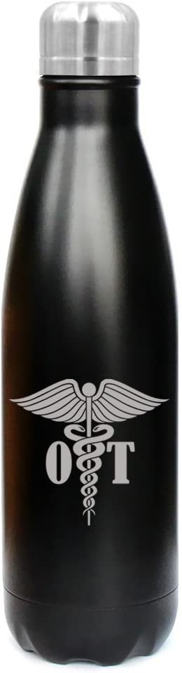 17 oz Insulated Stainless Steel Water Bottle OT Occupational Therapy Therapist