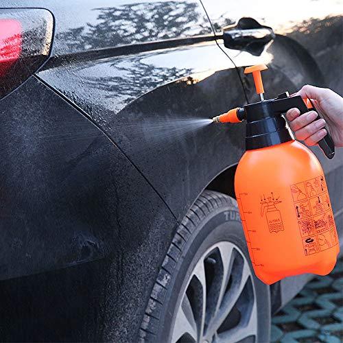 (Gotian 2L Plant Flower Watering Pot Spray Bottle Garden Mister Sprayer Hairdressing - Adjust Water Pressure - Press Water Spray (31x13cm))