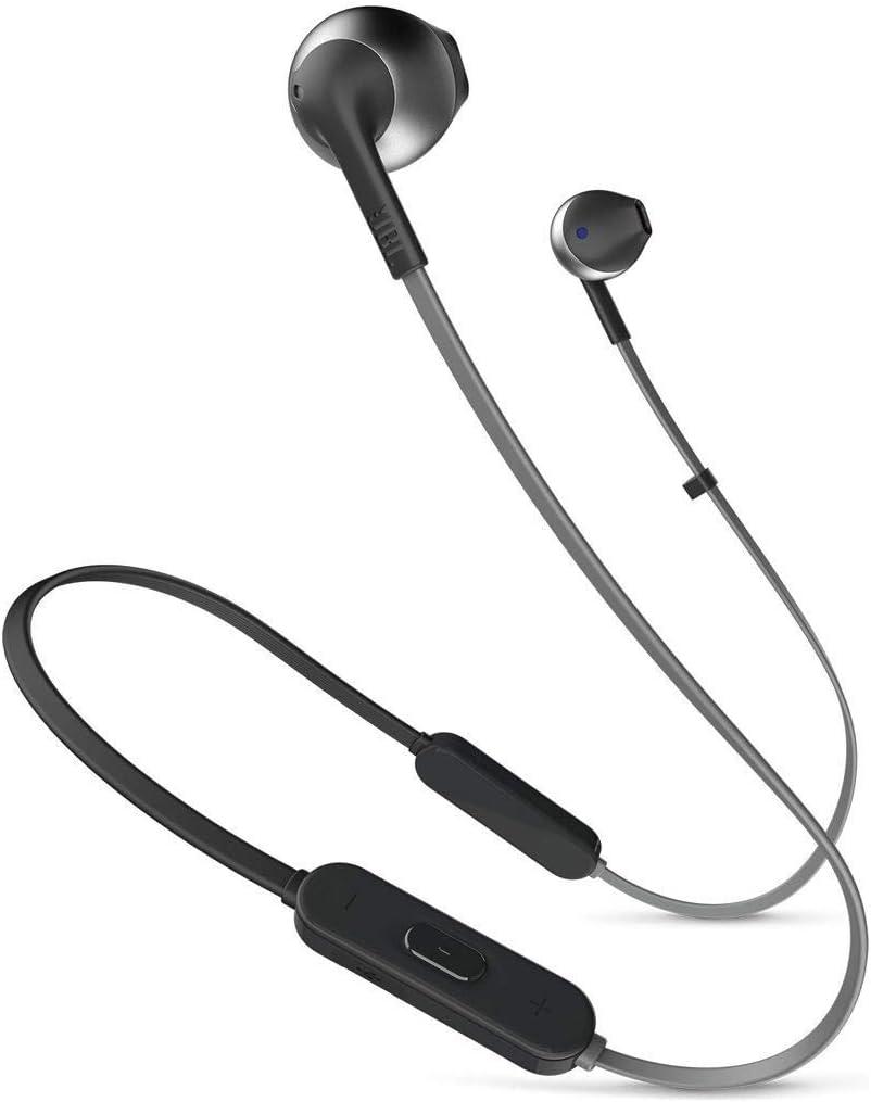 JBL Tune 205BT - Auriculares (Inalámbrico, Dentro de oído, Binaural, Intraaural, 20-20000 Hz, Negro)