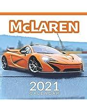 McLaren Calendar 2021: January 2021 through February 2022, Automobile Calendar, Supercars Calendar