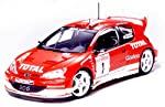 Tamiya 1/24 Sports Car Series Peugeot 206 WRC 2003 by Tamiya