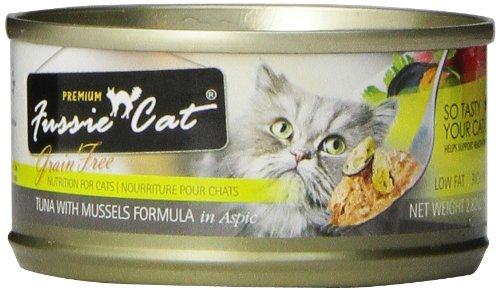 Fussie Cat Premium Tuna With Mussels Cat Food - 24 - 2.82-Oz