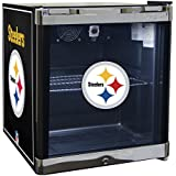 Glaros Officially Licensed NFL Beverage Center / Refrigerator - Pittsburgh Steelers
