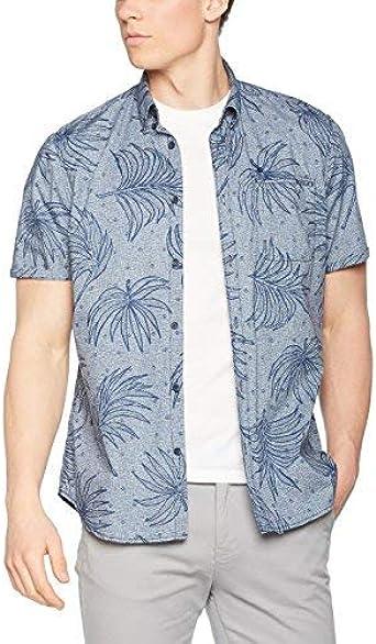 LERROS Herren Hemd Camisa, Gris (Pale Grey 223), L para Hombre: Amazon.es: Ropa y accesorios