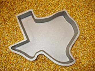 Cast Aluminum Texas Shaped Pan (Select Pan Type Below)