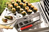 The Culinary Junction 76444 Jalapeno Roaster & Chicken Leg Roaster with Corer for Grill or Smoker