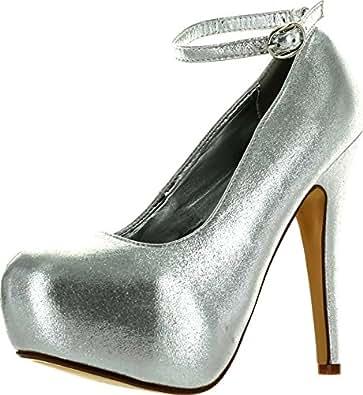 791beca8186 Delicacy Elegant-86 Womens New Hot Fashion Close Toe Stiletto Heel Pumps