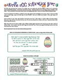 Printable Easter Egg Scavenger Hunt Clues Game [Download]