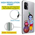 Fashionury Xiaomi Redmi Note 10 / Redmi Note 10S Printed Soft Back Cover Case/Designer Transparent Back Cover for Redmi…