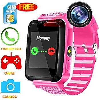 Amazon.com: Kids GPS Smart Phone Watch - 2019 New Smart ...