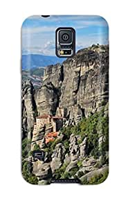 Anti-scratch And Shatterproof Meteora Phone Case For Galaxy S5/ High Quality Tpu Case
