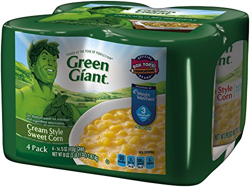 Green Giant Cream Style Sweet Corn, 14.75 Ounce, 4 Count