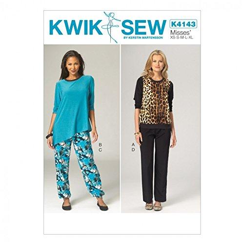 Kwik Sew Damen Schnittmuster 4143 Bademantel & Schlafanzug: Amazon ...