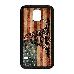 Don't Tread On Me ZLB519639 Custom Case for SamSung Galaxy S5 I9600, SamSung Galaxy S5 I9600 Case