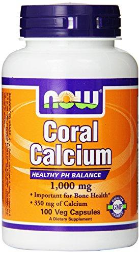 NOW Foods Коралловый кальций, 100 капсул / 1000 мг