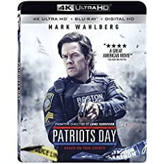 PATRIOTS DAY arrives on Digital HD March 14 and 4k Ultra HD, Blu-ray, DVD, VOD March 28 from Lionsgate