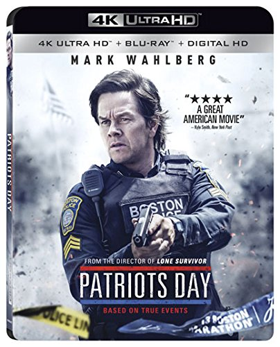 4K Blu-ray : Patriots Day (4K Mastering, 2 Pack, 2 Disc)